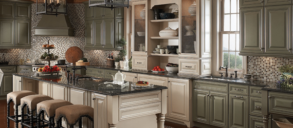 Classically Traditional Design Style - KraftMaid Cabinetry