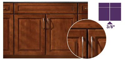 Door Overlays Kraftmaid Cabinetry