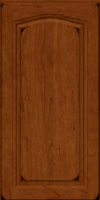 Arch Raised Panel - Solid (NFC) Cherry in Burnished Cinnamon - Wall