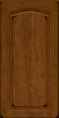 Arch Raised Panel - Solid (NFC) Cherry in Burnished Ginger - Wall