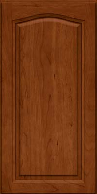 Arch Raised Panel - Solid (NFC) Cherry in Cinnamon - Wall