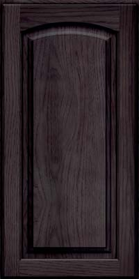 Arch Raised Panel - Solid (PWH) Hickory in Slate - Wall