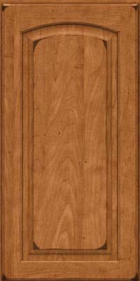 Arch Raised Panel - Solid (PWM) Maple in Burnished Praline - Wall