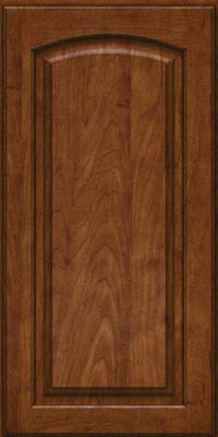 Arch Raised Panel - Solid (PWM) Maple in Cognac - Wall