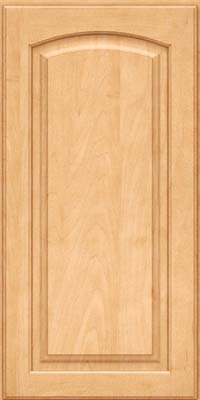 Arch Raised Panel - Solid (PWM) Maple in Honey Spice - Wall