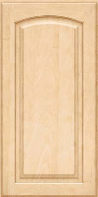 Arch Raised Panel - Solid (PWM) Maple in Natural - Wall