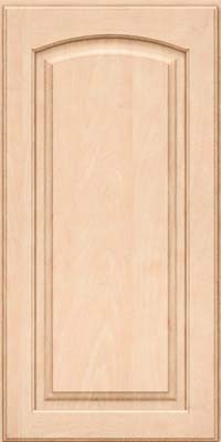 Arch Raised Panel - Solid (PWM) Maple in Parchment - Wall