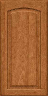 Arch Raised Panel - Solid (PWM) Maple in Praline - Wall