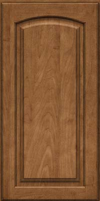 Arch Raised Panel - Solid (PWM) Maple in Rye - Wall