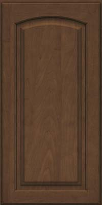 Arch Raised Panel - Solid (PWM) Maple in Saddle - Wall