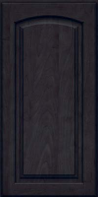 Arch Raised Panel - Solid (PWM) Maple in Slate - Wall