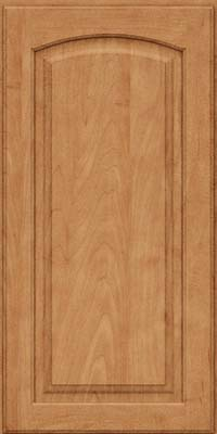 Arch Raised Panel - Solid (PWM) Maple in Toffee - Wall