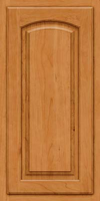 Arch Raised Panel - Solid (TWAC) Cherry in Natural - Wall