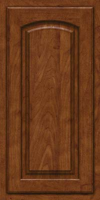 Arch Raised Panel - Solid (TWAM) Maple in Cognac - Wall