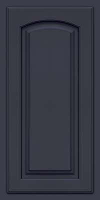 Arch Raised Panel - Solid (TWAM) Maple in Midnight w/ Onyx Glaze - Wall