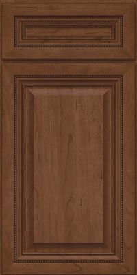 Square Raised Panel - Solid (ALC1) Cherry in Hazel - Base