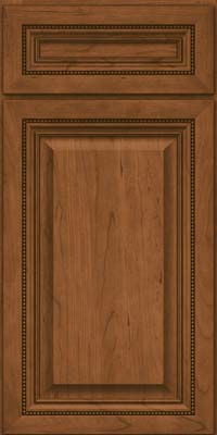 Square Raised Panel - Solid (ALC) Cherry in Rye - Base