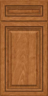 Square Raised Panel - Solid (ALM) Maple in Praline - Base