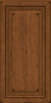 Square Raised Panel - Solid (ALC) Cherry in Burnished Rye - Wall