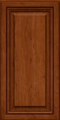 Square Raised Panel - Solid (ALC) Cherry in Cinnamon - Wall
