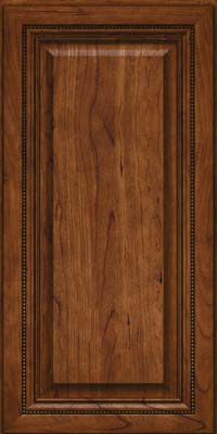 Square Raised Panel - Solid (ALC) Cherry in Cognac - Wall