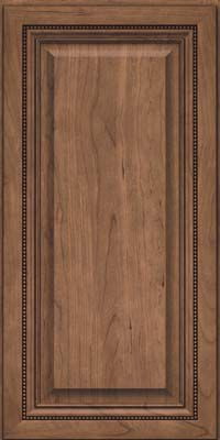 Square Raised Panel - Solid (ALC) Cherry in Husk - Wall