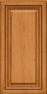 Square Raised Panel - Solid (ALC) Cherry in Natural - Wall