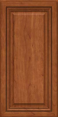 Square Raised Panel - Solid (ALC) Cherry in Sunset - Wall