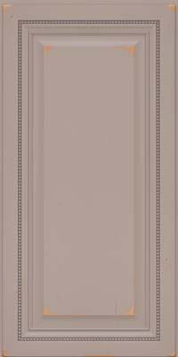 Square Raised Panel - Solid (ALC) Cherry in Vintage Pebble Grey - Wall