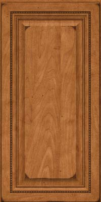Square Raised Panel - Solid (ALM) Maple in Burnished Praline - Wall