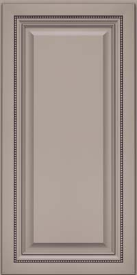 Square Raised Panel - Solid (ALM) Maple in Pebble Grey - Wall