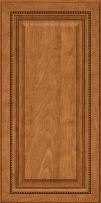Square Raised Panel - Solid (ALM) Maple in Praline - Wall
