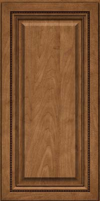 Square Raised Panel - Solid (ALM) Maple in Rye - Wall