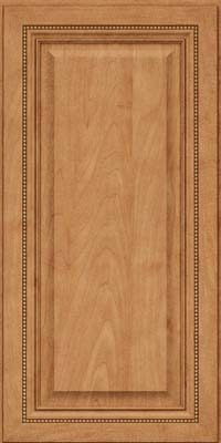 Square Raised Panel - Solid (ALM) Maple in Toffee - Wall