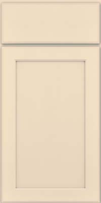 Square Recessed Panel - Veneer (AC9M) Maple in Biscotti w/ Cinder Glaze - Base