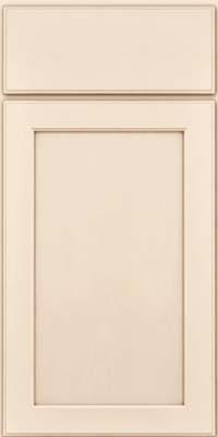 Square Recessed Panel - Veneer (AC9M) Maple in Canvas w/Cocoa Glaze - Base