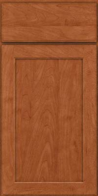 Square Recessed Panel - Veneer (AC9M) Maple in Cinnamon - Base