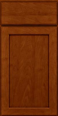 Square Recessed Panel - Veneer (AC9M) Maple in Cinnamon w/Onyx Glaze - Base