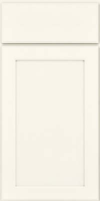 Square Recessed Panel - Veneer (AC9M) Maple in Dove White - Base