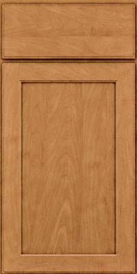 Square Recessed Panel - Veneer (AC9M) Maple in Ginger w/Sable Glaze - Base