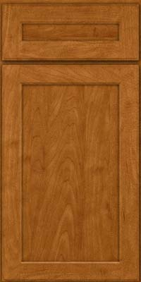 Square Recessed Panel - Veneer (AC9M) Maple in Golden Lager - Base