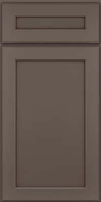 Square Recessed Panel - Veneer (AC9M) Maple in Greyloft w/ Sable Glaze - Base