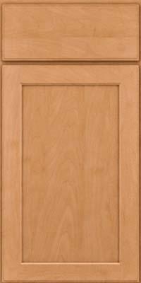 Square Recessed Panel - Veneer (AC9M) Maple in Honey Spice - Base