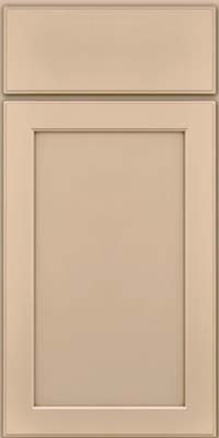 Square Recessed Panel - Veneer (AC9M) Maple in Mushroom w/Cocoa Glaze - Base