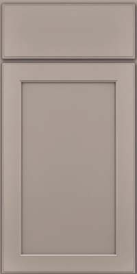 Square Recessed Panel - Veneer (AC9M) Maple in Pebble Grey - Base
