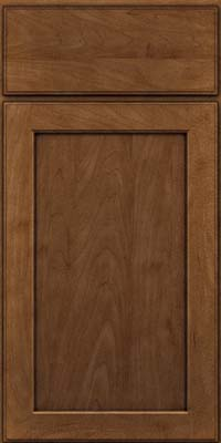 Square Recessed Panel - Veneer (AC9M) Maple in Rye w/Onyx Glaze - Base