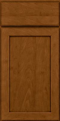 Square Recessed Panel - Veneer (AC9M) Maple in Rye w/Sable Glaze - Base