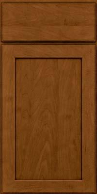 Square Recessed Panel - Veneer (AC9M) Maple in Rye w/Sable Glaze - Base