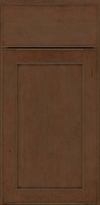 Square Recessed Panel - Veneer (AC9M) Maple in Saddle Suede - Base