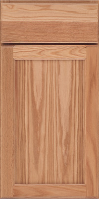 Square Recessed Panel - Veneer (AC9O) Oak in Natural - Base